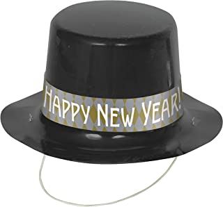 New Years Mini Top Hats, 4ct