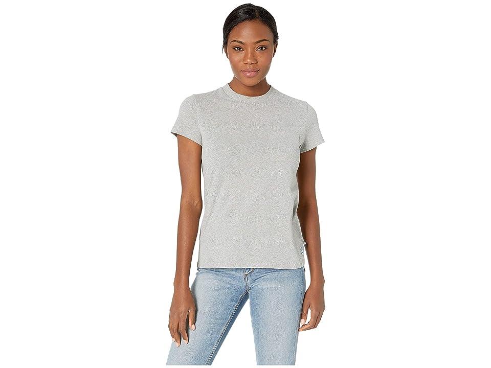 Fjallraven Greenland Re-Cotton T-Shirt Short Sleeve (Grey) Women