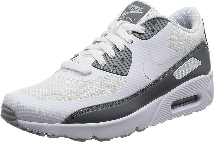 Amazon.com | Nike Men's Air Max 90 Ultra 2.0 Essential White/Cool ...