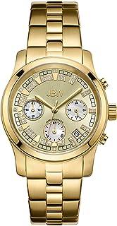 JBW Luxury Women's Alessandra 21 Diamonds Chronograph Metal Watch - JB-6217-E