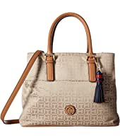 Tommy Hilfiger - Summer of Love Convertible Shopper Jacquard