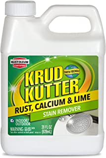 Krud Kutter 305475 Rust Calcium and Lime Stain Remover, 28 oz