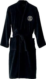 73652f590a5e6 PSG Peignoir Adulte Noir 100% Coton