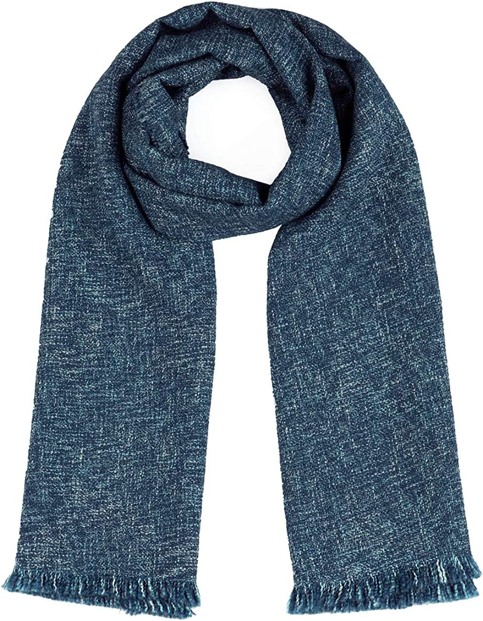 Inca Fashions Blanket Wide Scarf for Fashion & Cold Weather | Baby Alpaca & Wool