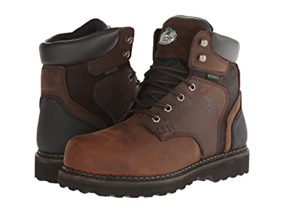 Georgia Boot Brookville 6 Waterproof (Dark Brown) Men