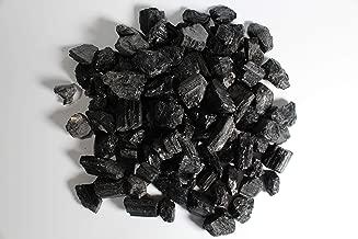 MINERALUNIVERSE 1/2 lb Rough Black Tourmaline Crystals - Raw Natural Black Tourmaline Stones Bulk Healing Crystals - Crystal Healing - Cabbing Cutting Lapidary Tumbling and Polishing