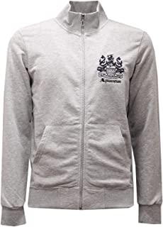 Aquascutum 2451AE Felpa Uomo Grey Melange Full Zip Cotton Sweatshirt Man
