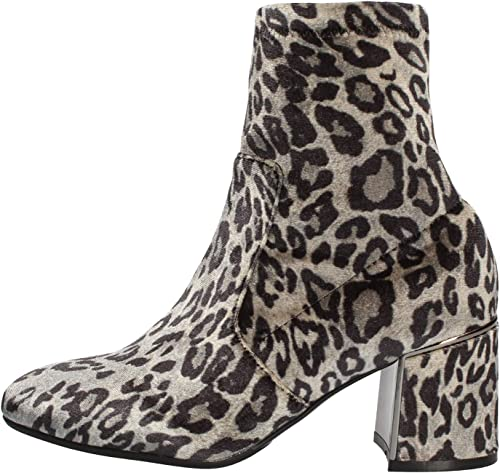Cafè schwarz JLA907 Elasticized SAMT Ankle Stiefel MIT Heel Accessory