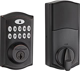 Kwikset 99130-003 SmartCode 913 Non-Connected Keyless Entry Electronic Keypad Deadbolt..
