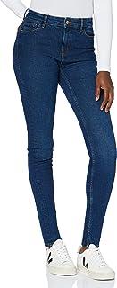 MERAKI Jeans Skinny Vita Regular Donna, Cotone Organico