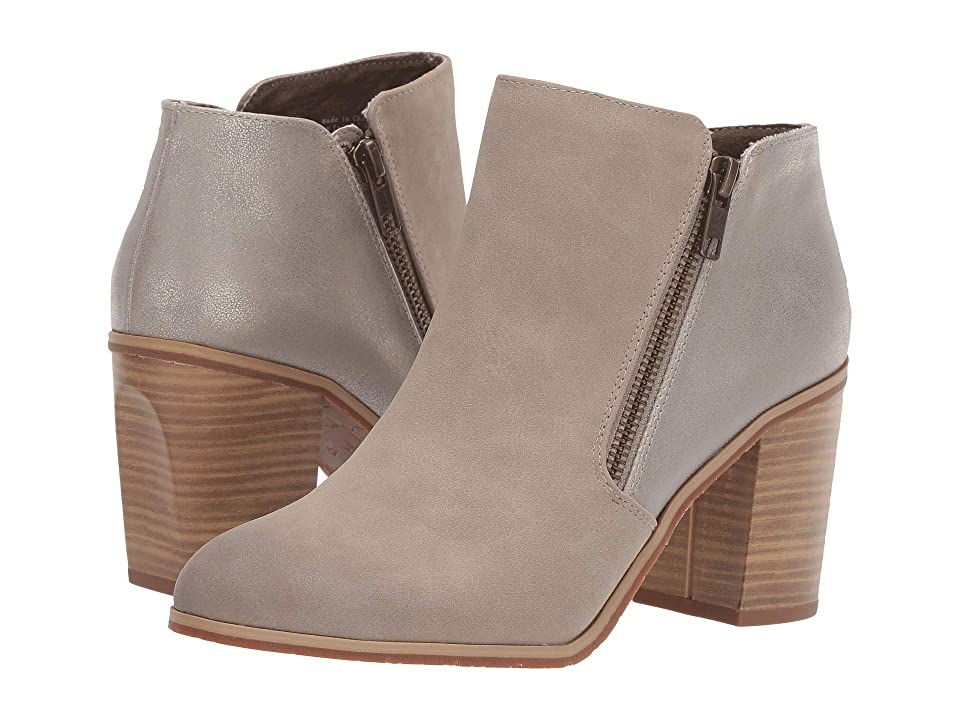 Seychelles BC Footwear by Seychelles Quite Simple (Taupe V-Nubuck/Pewter Metallic) Women