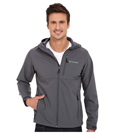 Columbia Ascendertm Hooded Softshell Jacket (Graphite) Men