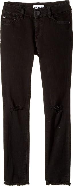 Chloe Skinny Jeans in Carbon Destroy (Big Kids)
