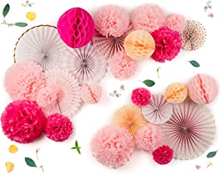 origami flower wall