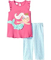 Mud Pie - Mermaid Tunic Capris Set (Toddler)