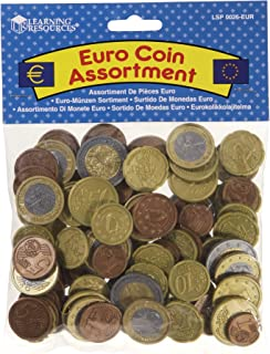 Learning Resources Euro Coins Set (Set of 100)