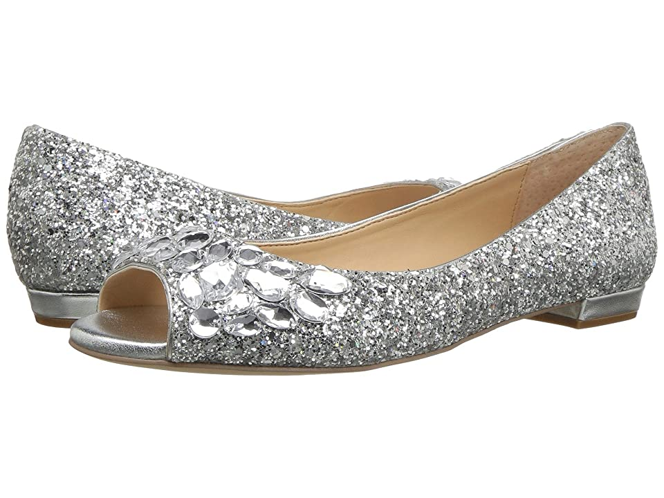 Jewel Badgley Mischka Claire by Jewel Badgley Mischka (Silver Glitter) Women
