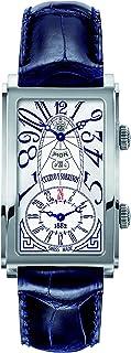 [クエルボ・イ・ソブリノス]Cuervo y Sobrinos 腕時計 紳士用 デュアルタイム 1124-1AAG メンズ 【正規輸入品】