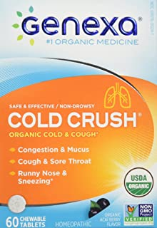 Genexa, Cold Crush Acai Berry Organic, 60 Count