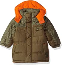 iXtreme Baby Boys Inf Space Dye Print Colorblock Puffer