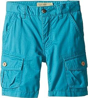 Lucky Brand Kids Boy 's Heritage Cargo Shorts In Twill ( Little Kids / Big Kids ) Parkaブルーショーツ