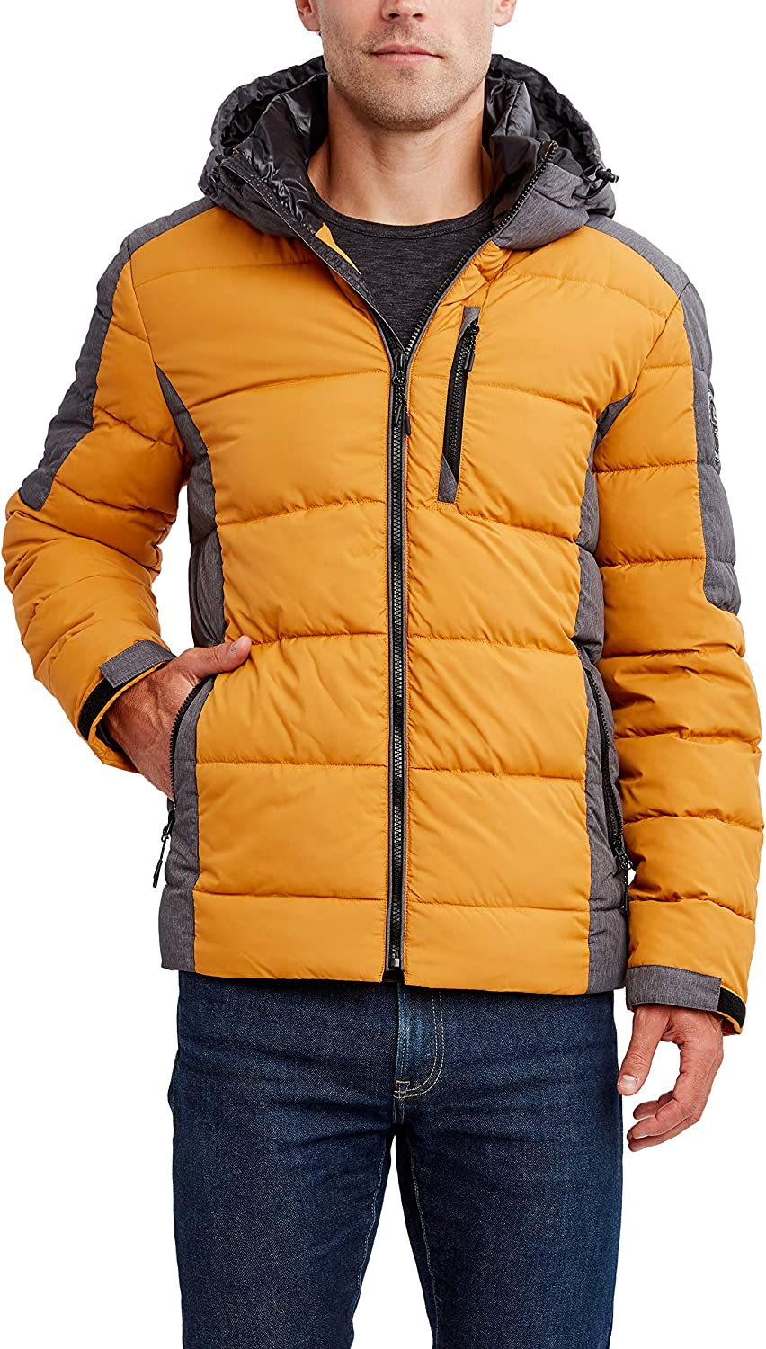 HFX Men's Poly Hooded Colorblock
