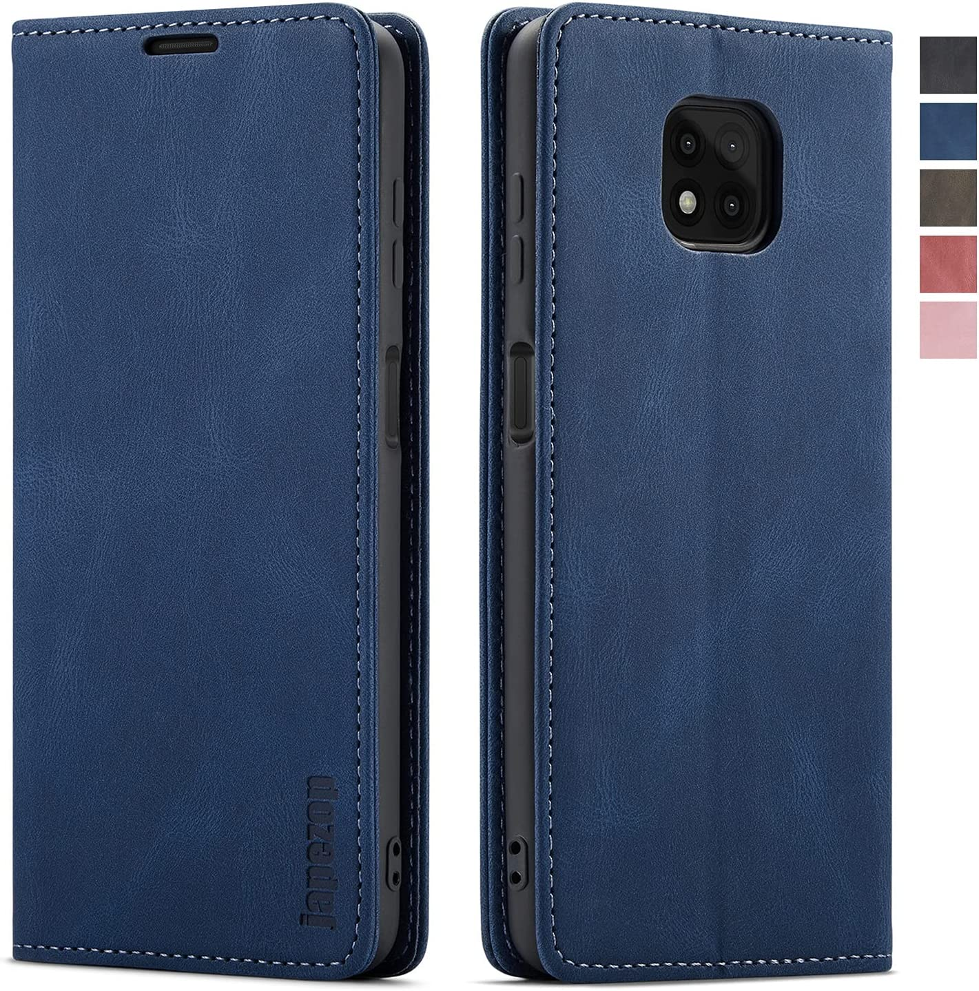 japezop for Moto G Power 2021 Case,Moto G Power 2021 Wallet Case with [RFID Blocking] Card Holder Kickstand Magnetic,Leather Flip Case for Moto G Power 2021 6.6 inch (Blue)