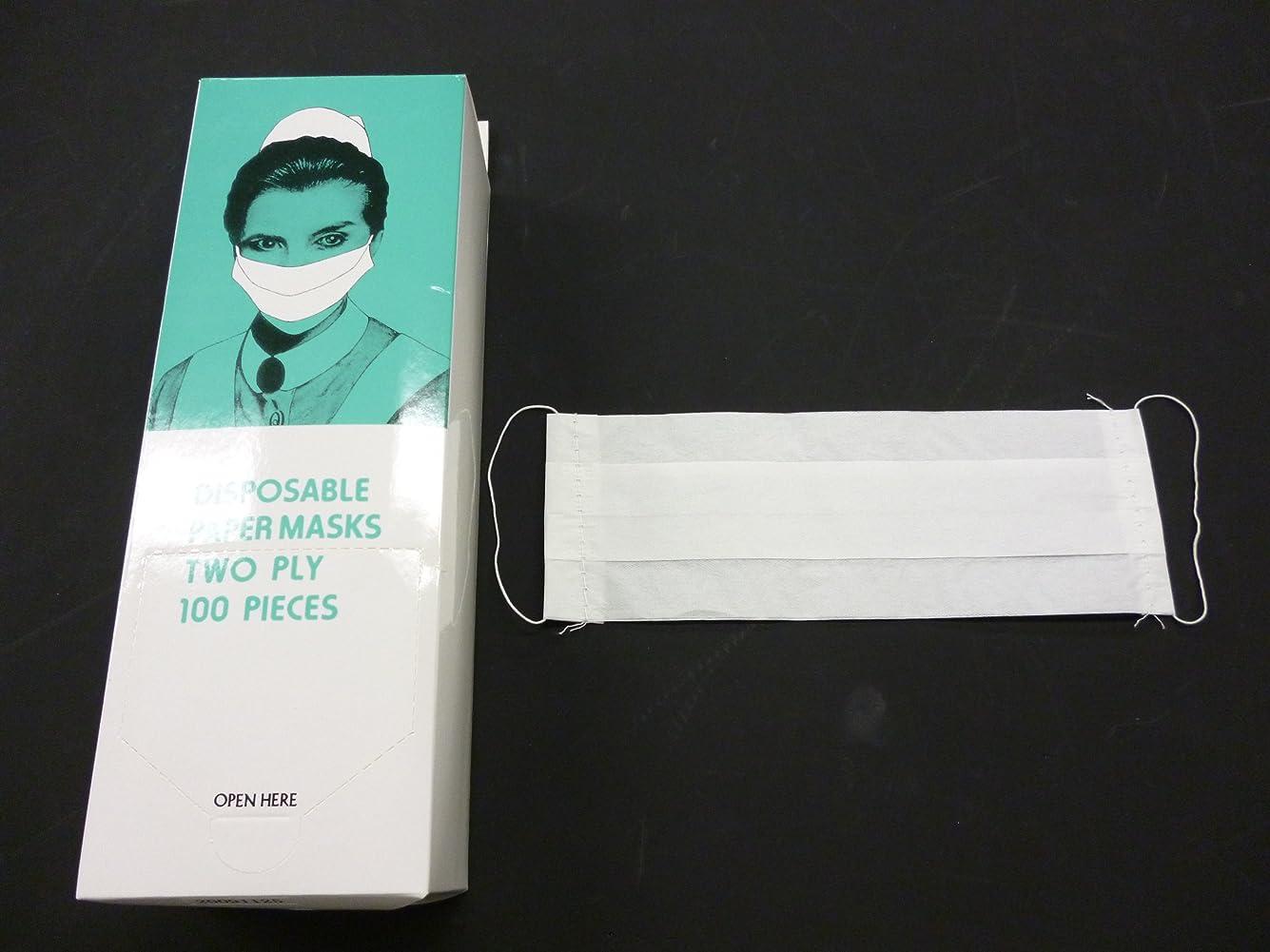 仮説スカイどれでもペーパーマスク 2P 100枚