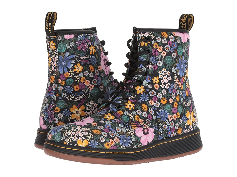 Dr. Martens Newton (Black/Mallow/Pink) Women