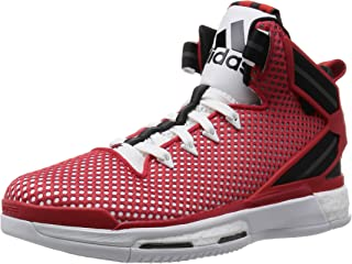 Performance D Rose 6 Boost Basketball Trainers Shoes - Scarlet