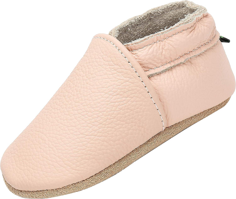 Zapatillas de Bebe Suave Cómodo Zapatillas de Niño Niña 0-6 Meses 6-12 Meses 12-18 Meses 18-24 Meses