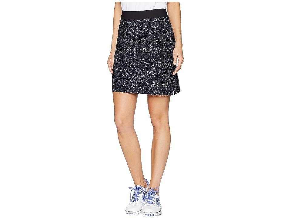 adidas Golf Ultimate Adistar Printed Skort (Black) Women