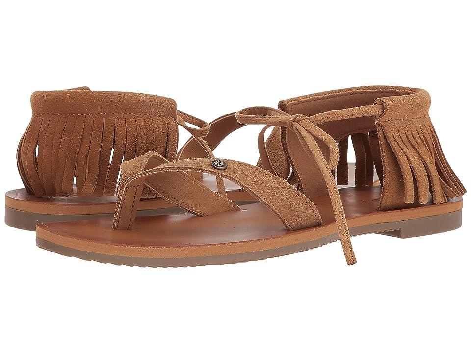 Volcom All Access Sandals (Cognac) Women