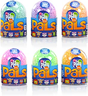 Educational Insights Playfoam Pals Wild Friends 6-Pack | Non-Toxic, Never Dries Out | Includes Collectible Playfoam Pals & Playfoam | Perfect for Ages 5 and up