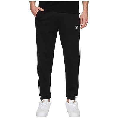 adidas Originals 3-Stripes Sweatpants (Black) Men