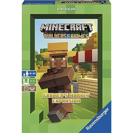 Ravensburger 26869 Minecraft Farmer's Market Expansion Versione Italiana, Light Strategy Game, 2-4 Giocatori, Età Consigliata 8+