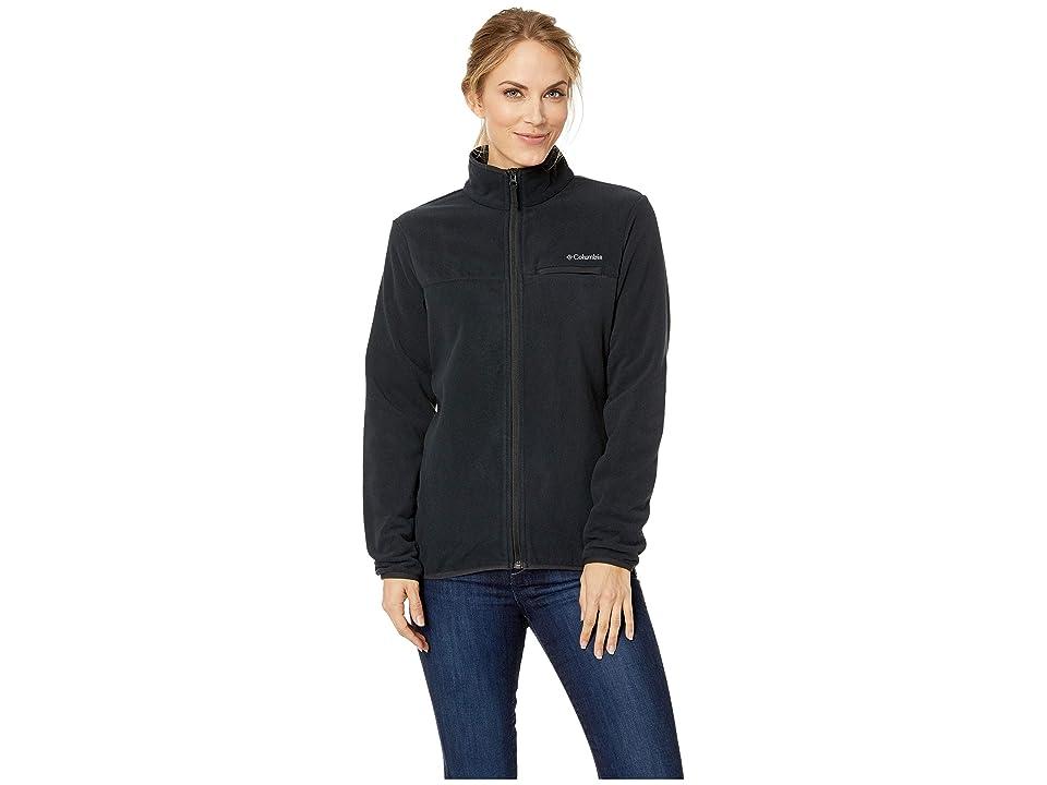 Columbia Mountain Crest Full Zip (Black/Black) Women