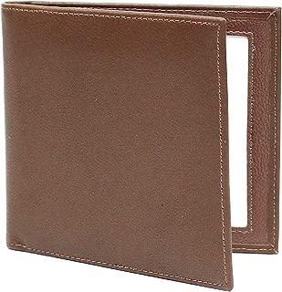 Karandu Double 4x4 Square Leather Picture Frame - Cognac