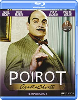 Poirot - Cuarta Temporada [Blu-ray]