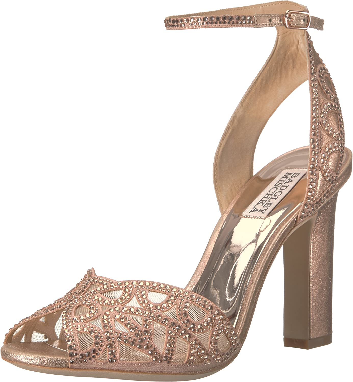 Badgley Mischka Womens Hart Heeled Sandal