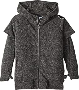 Twofer Zip Hoodie (Toddler/Little Kids)