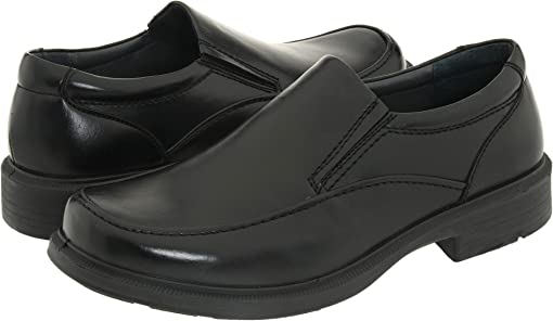Black Burnished Leather