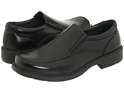 Deer Stags Brooklyn Slip-On Loafer (Black Burnished Leather) Men