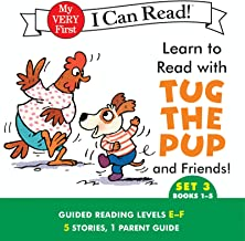Learn to Read with Tug the Pup and Friends! Set 3: Books 1-5 (My Very First I Can Read)
