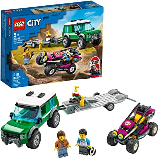 LEGO City Race Buggy Transporter 60288 Building Kit; Fun...