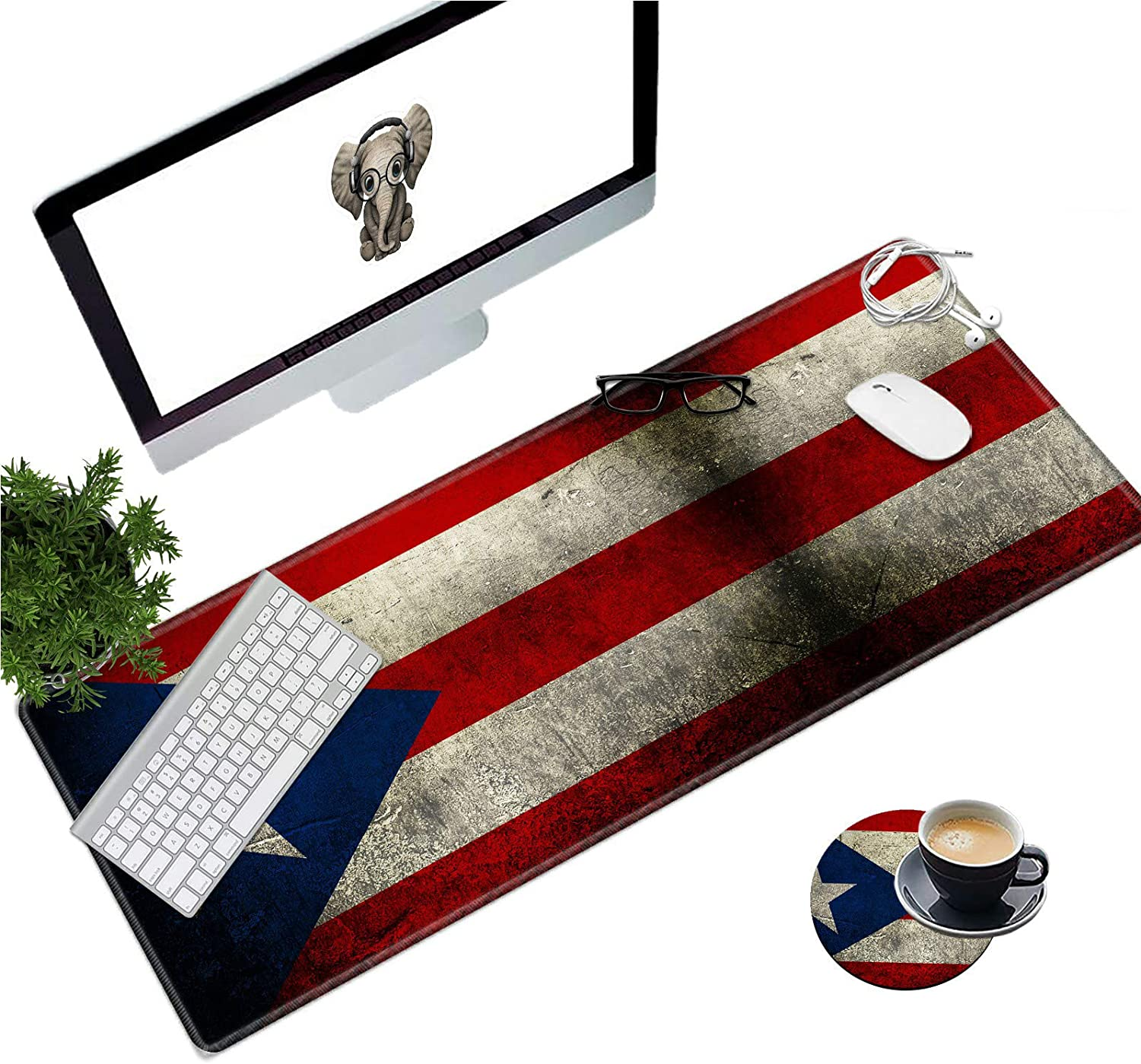Extended Gaming Mouse Pad with Mousepad Edges Sales of SALE items from new works Stitched Long Special price for a limited time XXL