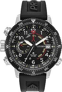 Citizen Men's Promaster Altichron Rubber Strap Watch