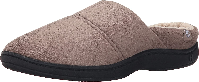 Isotoner Men's Microsuede Hoodback Thinsulate Flat