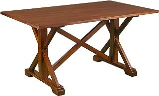 Best farmhouse trestle dining table Reviews