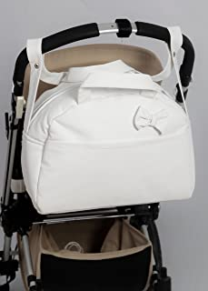 Amazon.es: bolso bebe carro blanco